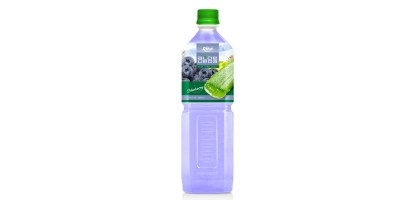 Aloe vera with blueberry flavor 1000ml of RITA beverage India