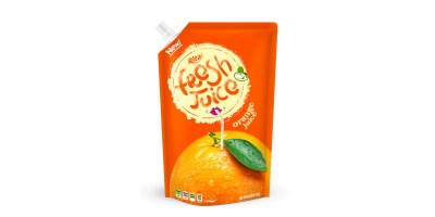 Bag orange juice 500ml of RITA India