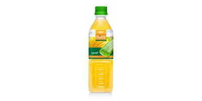 Aloe vera with mango juice 500ml Pet bottle of RITA India