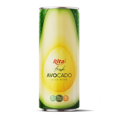 avocado juice drink 250ml can