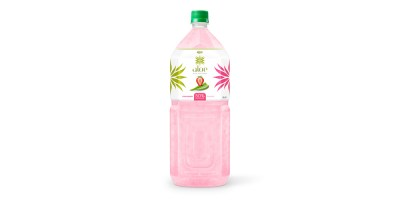 Aloe vera with strawberry juice 2000ml Pet Bottle  from RITA India