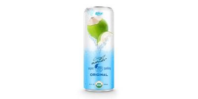 Coco Organic Sparkling 320ml in can from RITA US