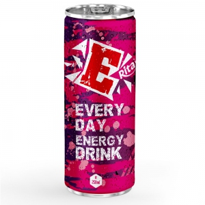 Energy drink 250ml aluminum canned  3