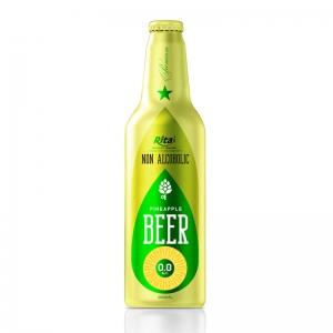 Aluminum Bottle 355ml Pineapple Beer Non Alc