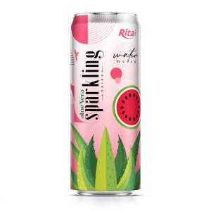 sparkling  drink aloe vera juice watermelon flavour