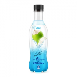 pet bottle 400ml spakling Coconut water  original