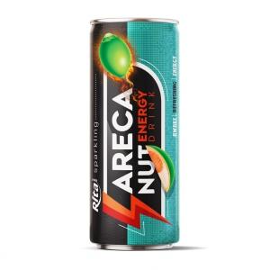Sparkling Areca nut Energy drink 250ml slim cans