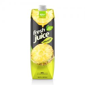 Box 1L fruit pineapple juice