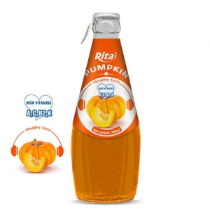 Pumpkin juice 290ml glass bottle