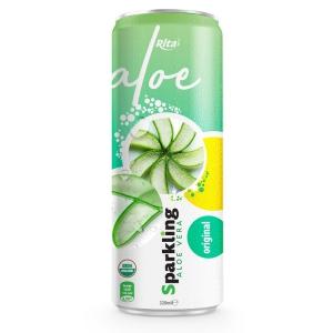 private label brand Sparkling  aloe vera  oringinal 320ml