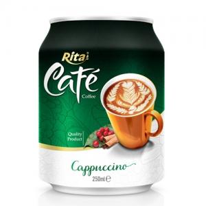 250ml Cappuccino coffee