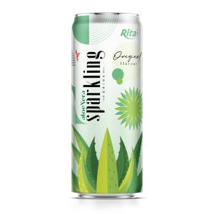 sparkling drink aloe vera juice original flavour