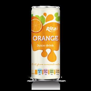 Fresh natural orange fruit juice