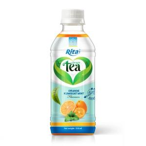 350ml Green Tea Kumquat Drink Good Health