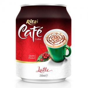 250ml Latte coffee