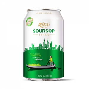 3 regions Collection  330ml Soursop juice drink